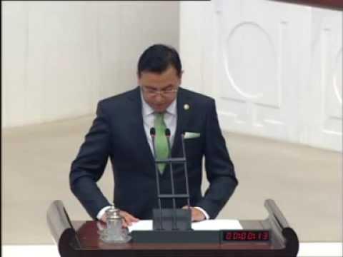 Nevşehir Milletvekili Ebubekir Gizligider BDP Önergesi Aleyhinde TBMM Konuşması…