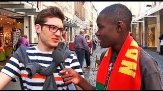 What do German people know about Namibia?