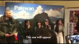 with English subtitle 4th Impact gone emotional singing ISANG LAHI We Are One Race