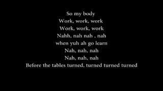 Rihanna ft. drake work - (song + lyrics ...