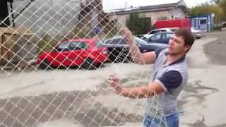 видео стеклопластиковая сетка