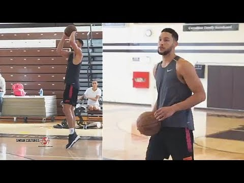 Ben Simmons Finally Makes A 3 Pointer But Just Not In The NBA Yet!