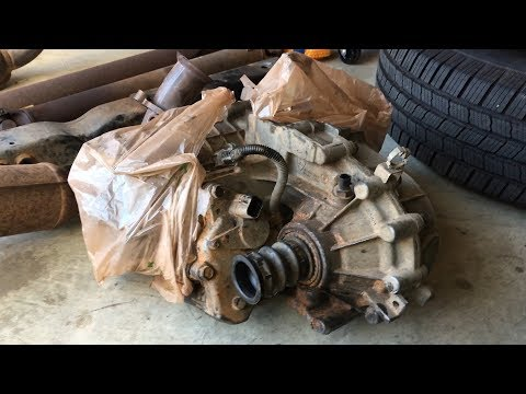 Remove Transfer Case & Connections - Transmission Removal Chevy Tahoe