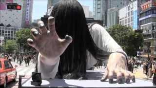 2013年夏 貞子がトントラに乗って徘徊するかも...m川゚Д川ノヘーイ♪ thumbnail