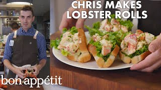 Download Chris Makes Lobster Rolls From Scratch | From the Test Kitchen | Bon Appétit Mp3 and Videos