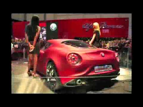 Alfa Romeo C4 Concept And C8 Competizione  YouTube