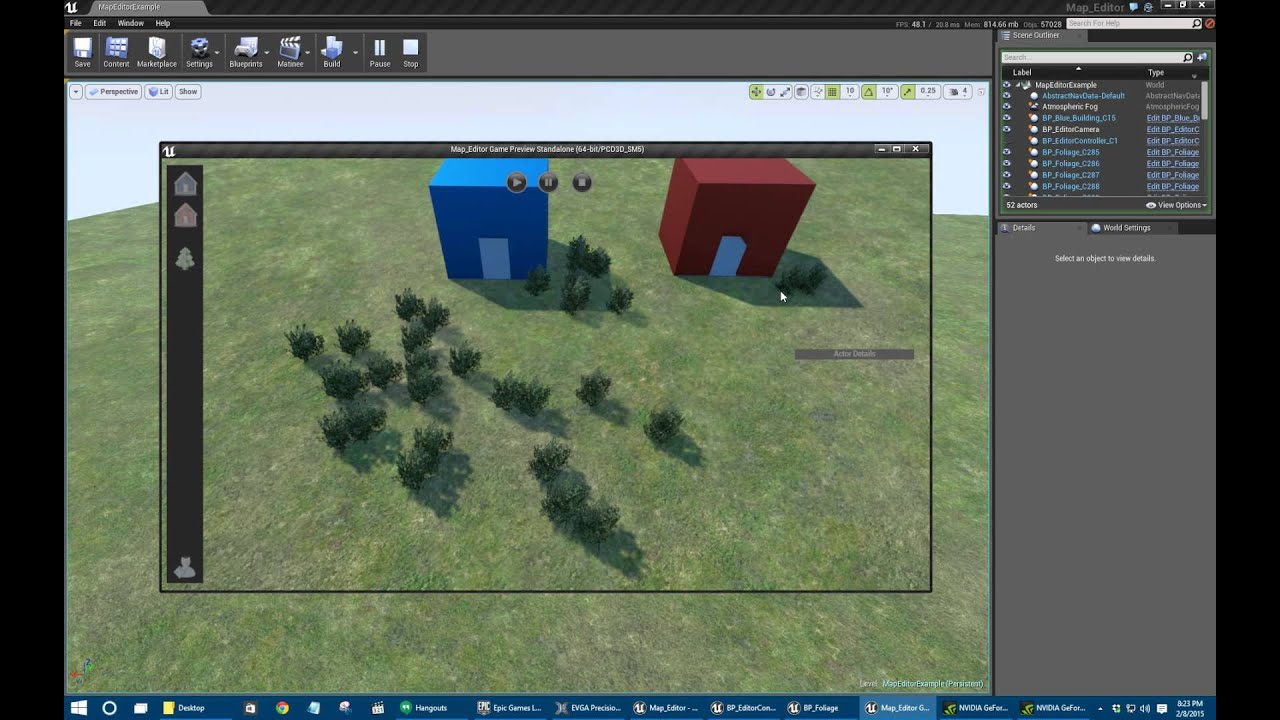 Unreal engine 4 map editor in blueprint youtube unreal engine 4 map editor in blueprint malvernweather Gallery