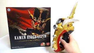 高級感すごい!仮面ライダードライブ 怪盗短剣 DXルパンガンナー&ルパンブレードバイラルコア レビュー DX Lupin Gunner & Lupin Blade Viral Core review thumbnail