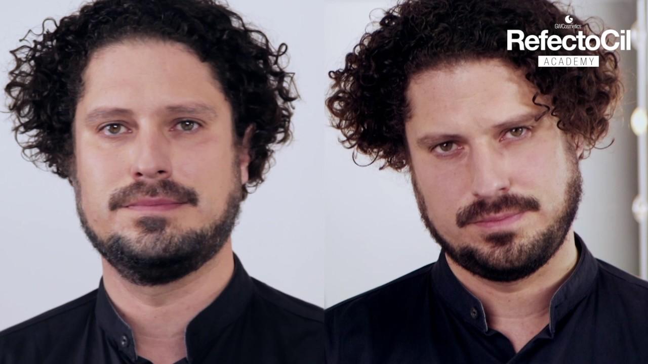 Refectocil Beard Tinting Black Youtube