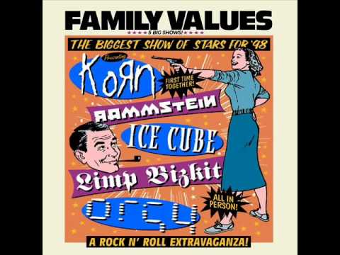 Limp Bizkit - Jump Aroud (House of Pain Cover) - Family Values 98'