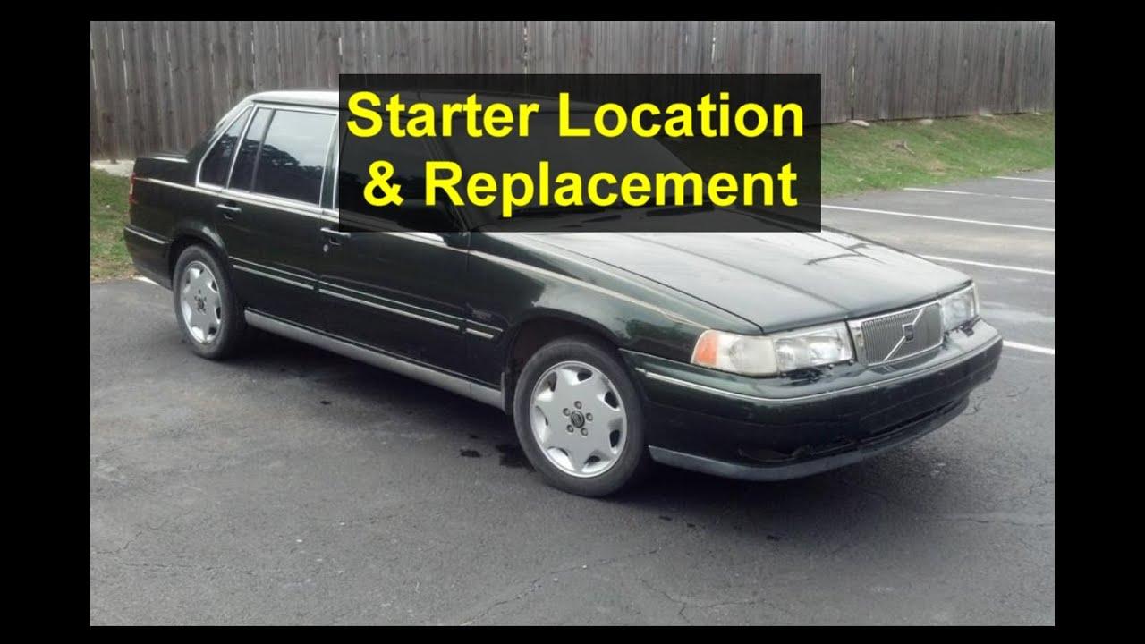 starter replacement volvo s90 960 v90 etc votd [ 1280 x 720 Pixel ]