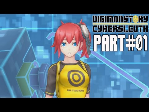Digimon Story Cyber Sleuth Walkthrough Part 1 No Commentary