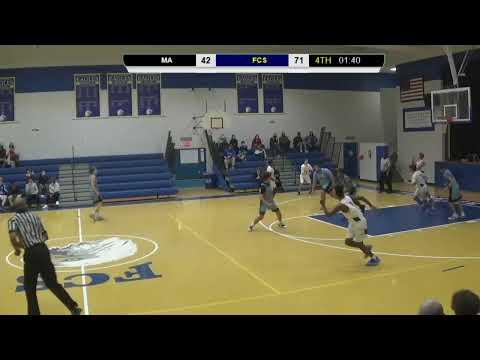 FCS vs Marlboro Academy Varsity Boys Basketball