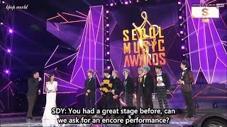 [FULL ENG SUB] All BTS Acceptance Speech + BTS Encore Stage_ Ending @Seoul Music Awards 2019
