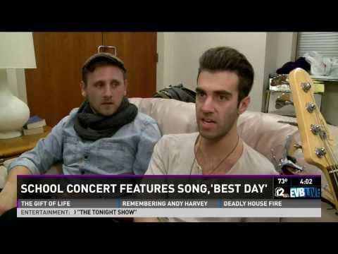 """""""Best Day of My Life"""" American Authors join Bright Beginnings 1st - 4th Graders -KPNX 12 News"""