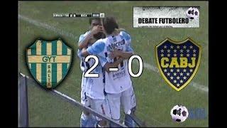 Gimnasia y Tiro 2 Vs Boca Juniors 0 - Amistoso 2014