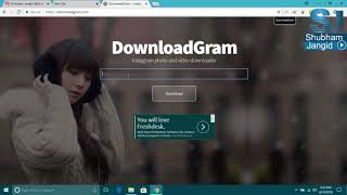 Gambar cover How to Download Instagram Photos & Videos on PC | DownloadGram