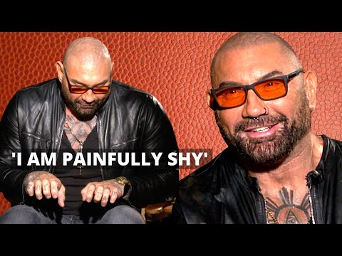 DAVE BAUTISTA | ANXIETY | SHYNESS | Divorce and new tattoos
