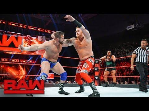 Heath Slater & Rhyno vs. The Revival: Raw, Dec. 18, 2017