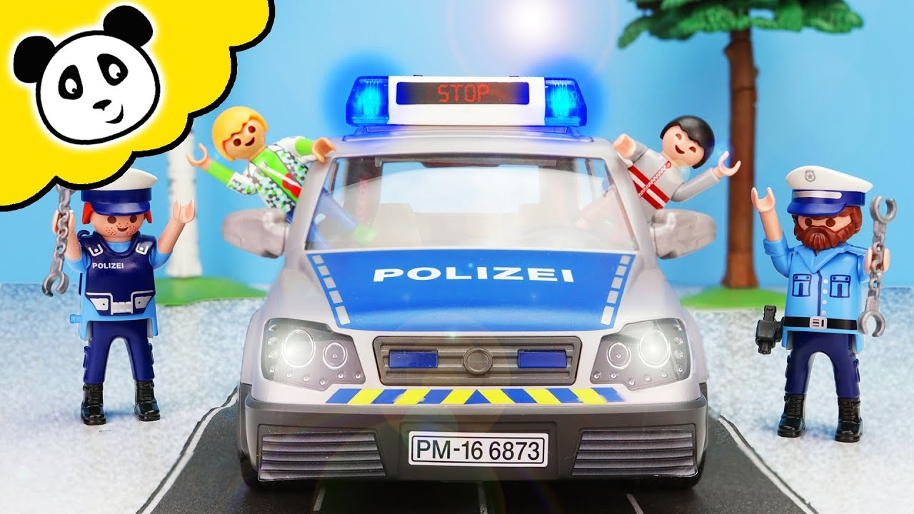 Playmobil Polizei Kind Klaut Polizeiauto Playmobil Film Youtube
