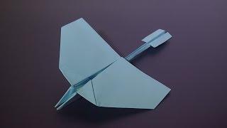 Как сделать самолет из бумаги(Интересная поделка из бумаги своими руками., 2016-09-05T17:32:38.000Z)