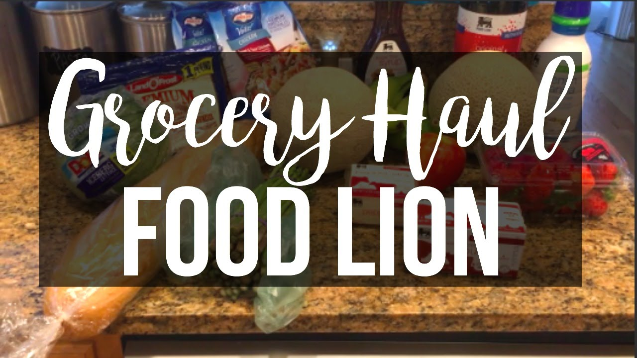 grocery haul food lion june 2016 page danielle - Food Lion Christmas Eve Hours