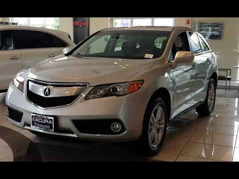 Video Tour of the 2015 Acura RDX V6 in Forged Silver Metallic