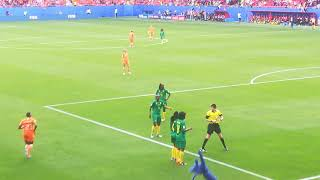 Coupe du monde 2019 : Pays-Bas - Cameroun , les dernières minutes.