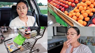 VLOG - What Happened & Grocery Shopping Haul