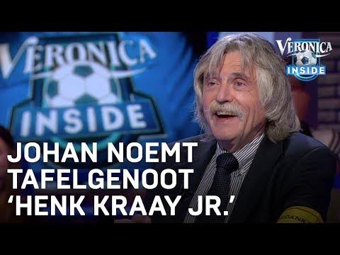 Johan noemt tafelgenoot: 'Henk Kraay Jr.' | VERONICA INSIDE
