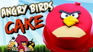 ANGRY BIRDS  CAKE (part 2)