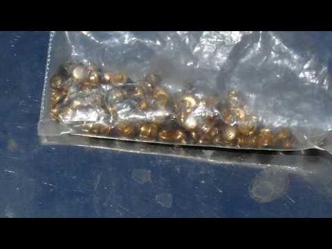 GOLD plated contacts full process PART 1 - English Audio re-upload