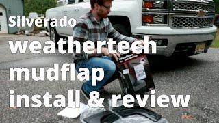 Video 2014 - 2018 Silverado Mudflap Install - WeatherTech download MP3, 3GP, MP4, WEBM, AVI, FLV April 2018