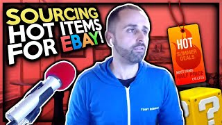 Easily Sourcing Hot items for eBay Dropshipping with Tom Cormier