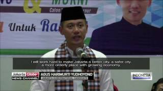 agus harimurti yudhoyono makes his political speech debut