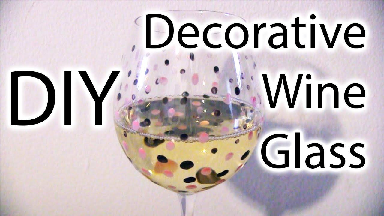 decorative halloween coloured decoration glasses decor large glass wine cute novelty
