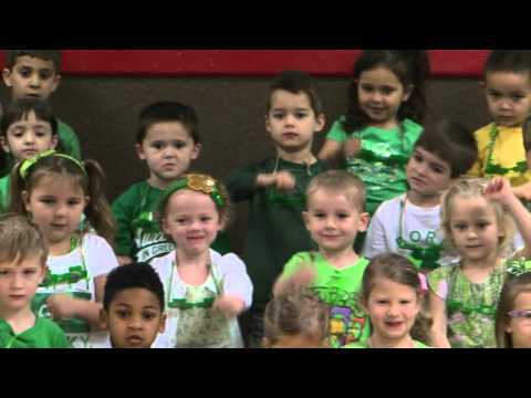 White Rock North School Pre-K St. Patrick's Program