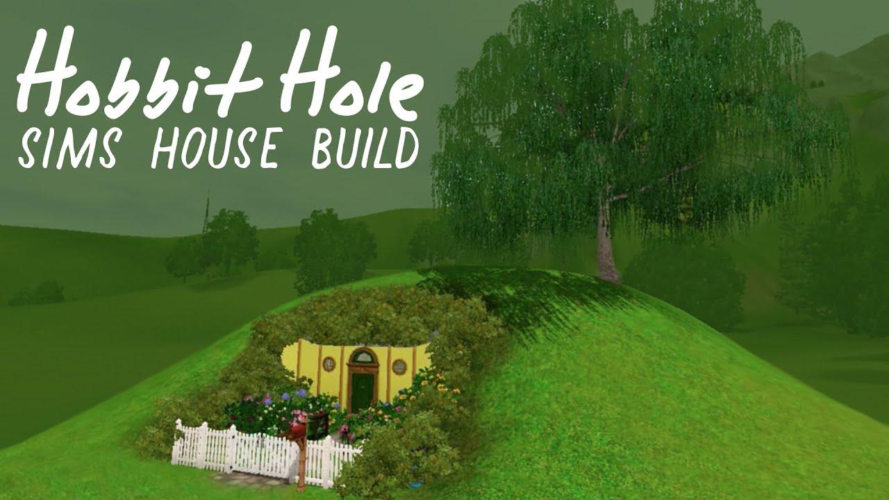 Hobbit Hole House sims 3 house build: hobbit hole!ヽ(^o^)丿 - youtube