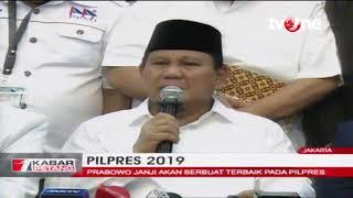 Ijtima Ulama II, Prabowo Janji Akan Berbuat Terbaik Pada Pilpres