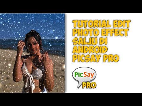 Cara Edit Foto Menjadi Effect Salju di Android - Picsay Pro - 동영상