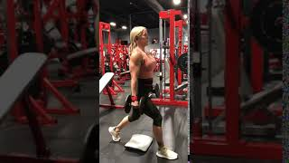 Isolated lunges (quad focused): Thompson Nutrition Training