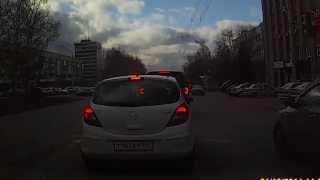 Проезд на красный ДПС бортовой № 980 г. Кемерово