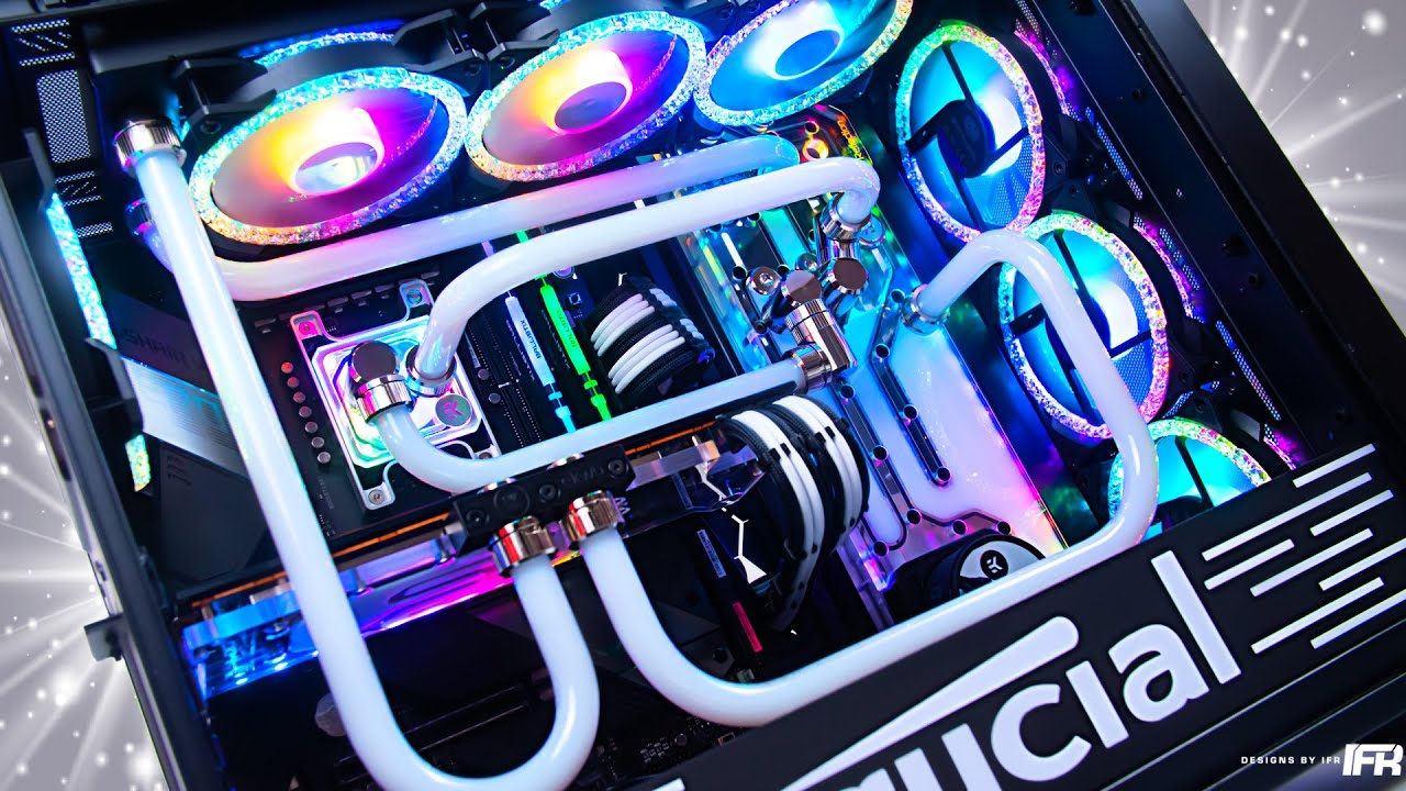 The all AMD water cooled PC