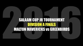 2016 Salaam Cup Jr Tournament: Division A Championship finals between Malton Mavericks vs Greenbirds