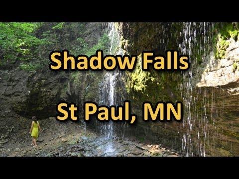 Shadow Waterfalls Park - St Paul Minnesota