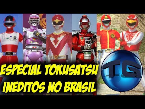 ESPECIAL Tokusatsu Inéditos no Brasil - CANAL TRIPLO G