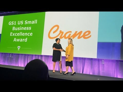 Crane USA Receives 2018 GS1 Small Business Excellence Award