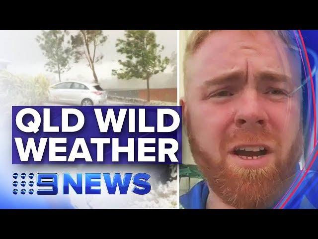 QLD's wild storms won't bring respite to bushfires | Nine News Australia