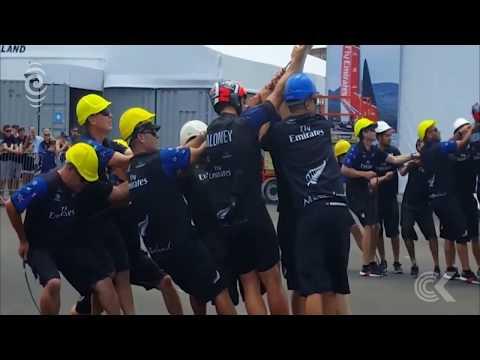 Team NZ working through night trying to repair catamaran: RNZ Checkpoint