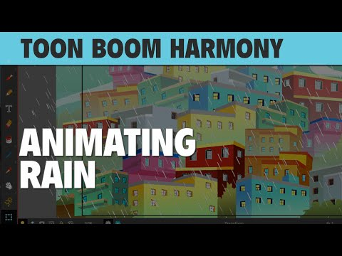 Learn How to Animate Rain in Toon Boom Harmony 12! [REPLAY]
